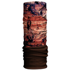 HAD Original Fleece Tube Scarf grand canyon/brown